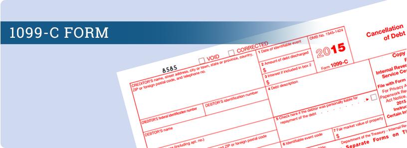 Form 1099 C Wage Filing
